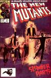 New Mutants #21 comic books - cover scans photos New Mutants #21 comic books - covers, picture gallery