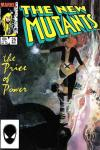 New Mutants #25 comic books - cover scans photos New Mutants #25 comic books - covers, picture gallery