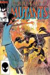 New Mutants #27 comic books - cover scans photos New Mutants #27 comic books - covers, picture gallery