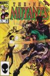 New Mutants #30 comic books - cover scans photos New Mutants #30 comic books - covers, picture gallery