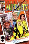 New Mutants #32 comic books - cover scans photos New Mutants #32 comic books - covers, picture gallery