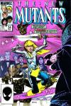 New Mutants #34 comic books - cover scans photos New Mutants #34 comic books - covers, picture gallery
