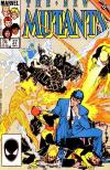 New Mutants #37 comic books - cover scans photos New Mutants #37 comic books - covers, picture gallery