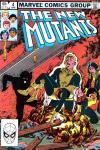 New Mutants #4 Comic Books - Covers, Scans, Photos  in New Mutants Comic Books - Covers, Scans, Gallery