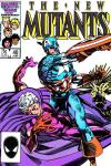 New Mutants #40 comic books - cover scans photos New Mutants #40 comic books - covers, picture gallery