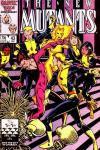 New Mutants #43 comic books - cover scans photos New Mutants #43 comic books - covers, picture gallery