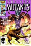 New Mutants #44 comic books - cover scans photos New Mutants #44 comic books - covers, picture gallery