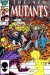 New Mutants #46 comic books - cover scans photos New Mutants #46 comic books - covers, picture gallery