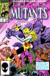 New Mutants #50 comic books - cover scans photos New Mutants #50 comic books - covers, picture gallery