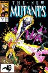 New Mutants #54 comic books - cover scans photos New Mutants #54 comic books - covers, picture gallery