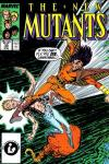 New Mutants #55 comic books - cover scans photos New Mutants #55 comic books - covers, picture gallery