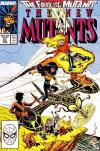 New Mutants #61 comic books - cover scans photos New Mutants #61 comic books - covers, picture gallery