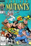 New Mutants #65 comic books - cover scans photos New Mutants #65 comic books - covers, picture gallery