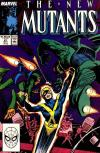 New Mutants #67 comic books - cover scans photos New Mutants #67 comic books - covers, picture gallery