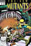 New Mutants #70 comic books - cover scans photos New Mutants #70 comic books - covers, picture gallery