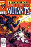 New Mutants #71 comic books - cover scans photos New Mutants #71 comic books - covers, picture gallery