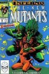 New Mutants #72 comic books - cover scans photos New Mutants #72 comic books - covers, picture gallery