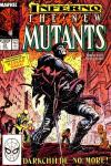 New Mutants #73 comic books - cover scans photos New Mutants #73 comic books - covers, picture gallery