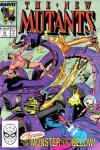 New Mutants #76 comic books - cover scans photos New Mutants #76 comic books - covers, picture gallery