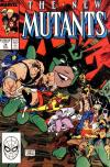New Mutants #78 comic books - cover scans photos New Mutants #78 comic books - covers, picture gallery
