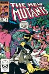 New Mutants #8 comic books - cover scans photos New Mutants #8 comic books - covers, picture gallery