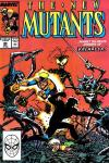 New Mutants #80 comic books - cover scans photos New Mutants #80 comic books - covers, picture gallery