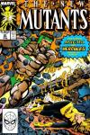 New Mutants #81 comic books - cover scans photos New Mutants #81 comic books - covers, picture gallery