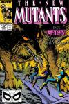 New Mutants #82 comic books - cover scans photos New Mutants #82 comic books - covers, picture gallery