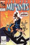 New Mutants #83 comic books - cover scans photos New Mutants #83 comic books - covers, picture gallery