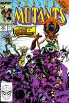 New Mutants #84 comic books - cover scans photos New Mutants #84 comic books - covers, picture gallery