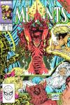 New Mutants #85 comic books - cover scans photos New Mutants #85 comic books - covers, picture gallery