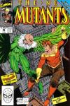 New Mutants #86 comic books - cover scans photos New Mutants #86 comic books - covers, picture gallery