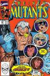 New Mutants #87 comic books - cover scans photos New Mutants #87 comic books - covers, picture gallery