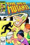 New Mutants #9 comic books - cover scans photos New Mutants #9 comic books - covers, picture gallery