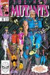 New Mutants #90 comic books - cover scans photos New Mutants #90 comic books - covers, picture gallery