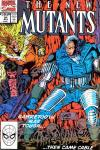 New Mutants #91 comic books - cover scans photos New Mutants #91 comic books - covers, picture gallery