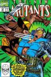 New Mutants #93 comic books - cover scans photos New Mutants #93 comic books - covers, picture gallery