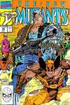 New Mutants #94 comic books - cover scans photos New Mutants #94 comic books - covers, picture gallery