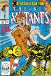 New Mutants #95 comic books - cover scans photos New Mutants #95 comic books - covers, picture gallery