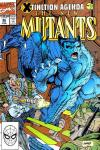 New Mutants #96 comic books - cover scans photos New Mutants #96 comic books - covers, picture gallery