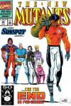 New Mutants #99 comic books - cover scans photos New Mutants #99 comic books - covers, picture gallery