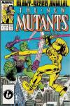 New Mutants #3 comic books - cover scans photos New Mutants #3 comic books - covers, picture gallery
