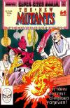 New Mutants #4 comic books - cover scans photos New Mutants #4 comic books - covers, picture gallery