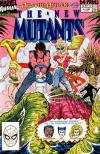 New Mutants #5 comic books - cover scans photos New Mutants #5 comic books - covers, picture gallery