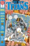 New Titans #5 comic books - cover scans photos New Titans #5 comic books - covers, picture gallery