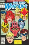 New Warriors #25 comic books for sale