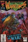 New Warriors #54 comic books for sale