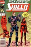 Nick Fury: Agent of SHIELD #12 comic books - cover scans photos Nick Fury: Agent of SHIELD #12 comic books - covers, picture gallery