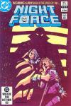 Night Force #11 comic books - cover scans photos Night Force #11 comic books - covers, picture gallery