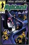 Nightmask #5 comic books - cover scans photos Nightmask #5 comic books - covers, picture gallery